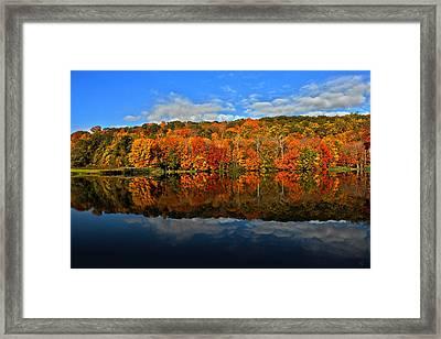 Autumnscape Framed Print by Karol Livote
