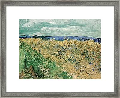 Auvers Sur Oise Framed Print by Vincent van Gogh