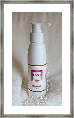 Ava Anderson Nontoxic Cleanser Framed Print by Anne Babineau
