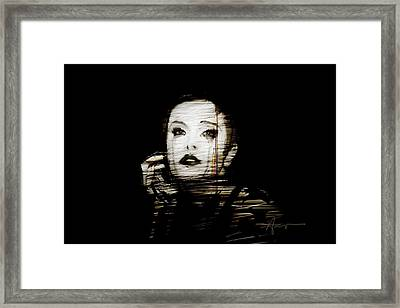 Ava Framed Print by H James Hoff