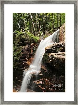 Framed Print featuring the photograph Avalanche Falls by Jemmy Archer