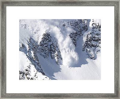 Avalanche I Framed Print by Bill Gallagher