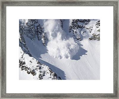 Avalanche II Framed Print by Bill Gallagher