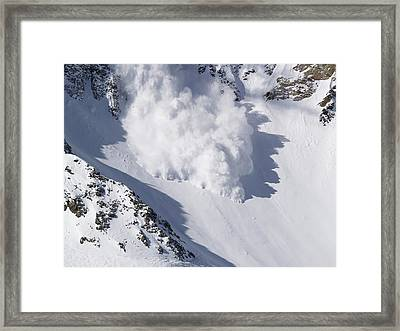Avalanche IIi Framed Print by Bill Gallagher