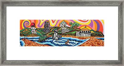 Avalon Bay Framed Print by Carlos Martinez