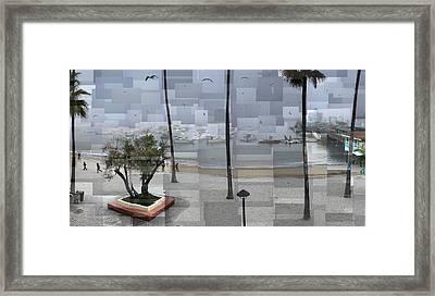 Avalon Fog Framed Print