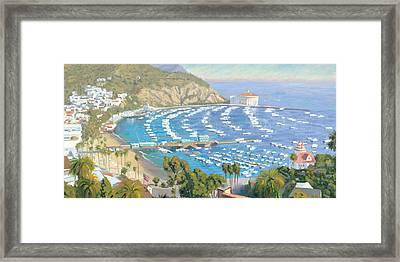 Avalon Panorama Framed Print by Steve Simon