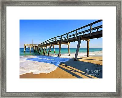 Avalon Pier Framed Print
