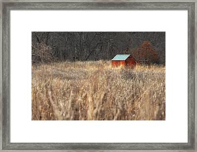 Avalon Preserve Stony Brook New York Framed Print by Bob Savage