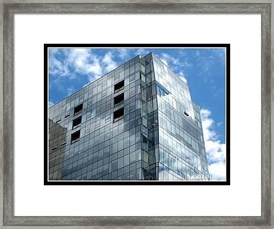 Avant Building In Buffalo New York Framed Print by Rose Santuci-Sofranko