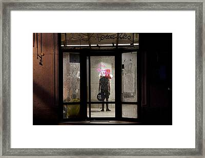 Framed Print featuring the photograph Avant-garde Theatre by Colleen Williams