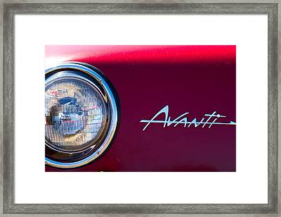 Avanti Framed Print by Bernard  Barcos