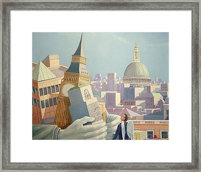 Avarice Framed Print by Lincoln Seligman