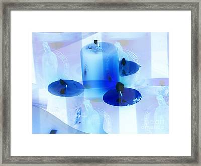 Ave Maria 2 - Reunion Island - Indian Ocean Framed Print by Francoise Leandre