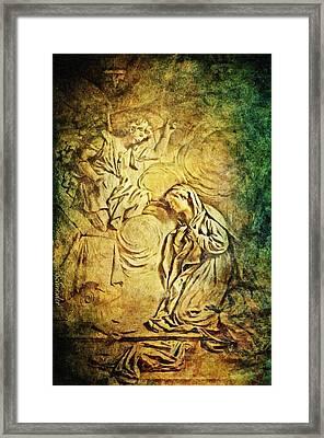 Ave Maria...gratia Plena Framed Print