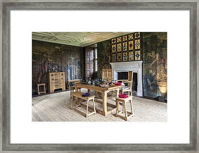 Avebury Manor Framed Print by Svetlana Sewell
