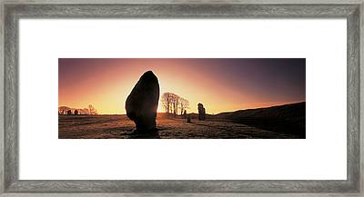 Avebury Wiltshire England Framed Print by Panoramic Images