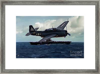 Avenger And The Lady Framed Print by Tommy Anderson