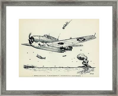 Avenger Framed Print by Hank Clark