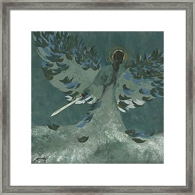 Avenging Angel Framed Print