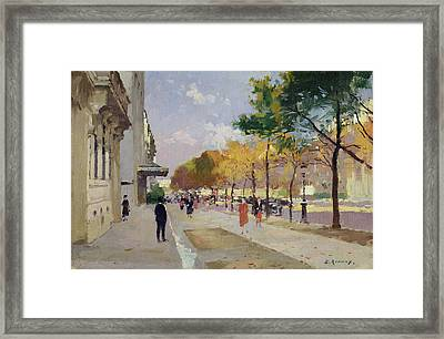Avenue Montaigne, Paris  Framed Print