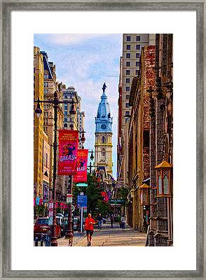 Avenue Of The Arts - Broad Street Framed Print