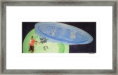 Avery Jenkins - Visualize Results Framed Print by Mike Durco
