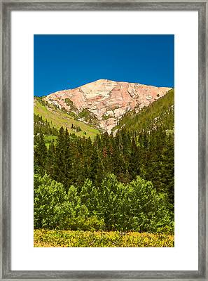 Avery Peak Framed Print