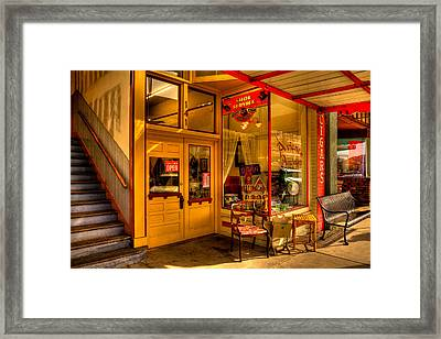 Aviance Antiques Prescott Arizona Framed Print by David Patterson