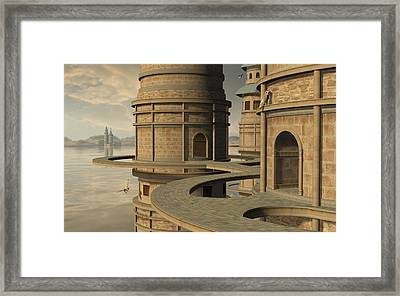 Aviary Framed Print by Cynthia Decker