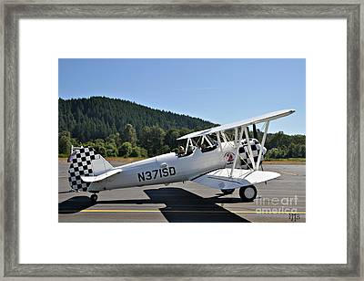 Framed Print featuring the photograph Aviation Dreams by Mindy Jo Bench
