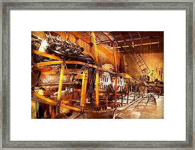 Aviation - Early Days Of Aviation Framed Print by Mike Savad