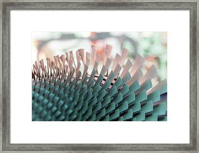 Aviation Engine Framed Print by Photostock-israel