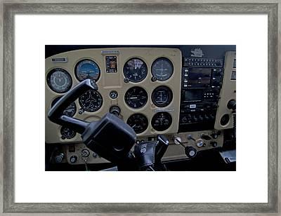 Aviation Near Jekyll Island Framed Print by Betsy Knapp