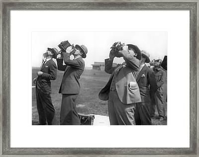 Aviation Show Photographers Framed Print