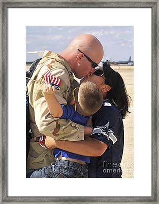 Aviation Structural Mechanic Receives Framed Print by Stocktrek Images