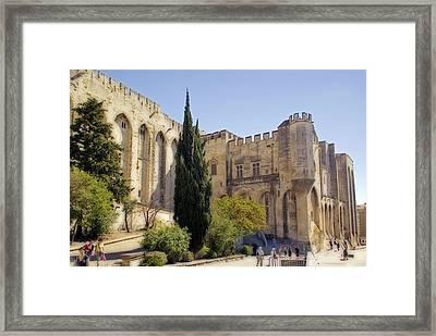 Avignon - Palais Des Papes Framed Print
