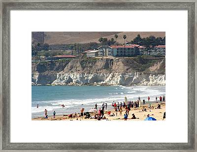 Pismo Beach Ca Framed Print
