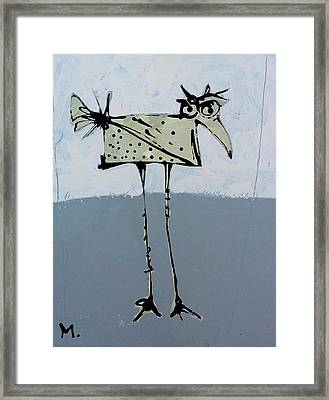 Avis No 4 Framed Print by Mark M  Mellon