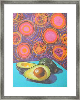 Avocado Delight Framed Print by Adel Nemeth