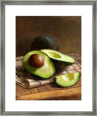 Avocados Framed Print by Robert Papp