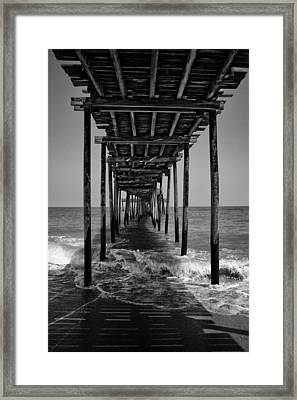 Avon Fishing Pier Framed Print