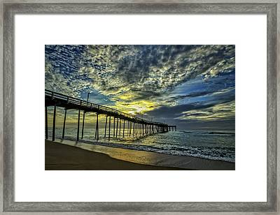 Avon Pier At Dawn Framed Print
