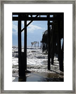 Avon Pier Framed Print by Patricia Januszkiewicz