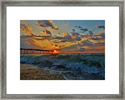 Mother Natures Awakening  3 7/26 Framed Print