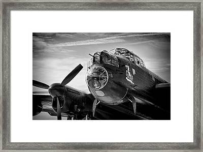 Avro Lancaster Framed Print by Ian Merton