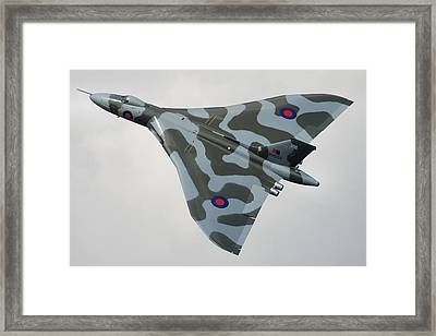 Avro Vulcan B2 Framed Print by Tim Beach