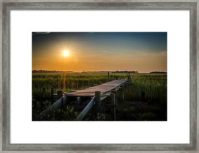 Awaiting Sunset Framed Print