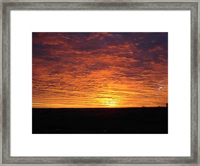 Framed Print featuring the photograph Awaiting The Dawn by J L Zarek