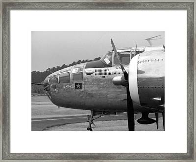 Awaiting The Next Sortie Framed Print by Philip Rispin